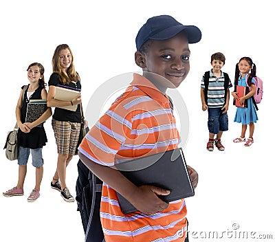 Gosses d école