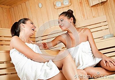 Gossip in sauna