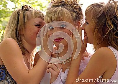 Gossiping girls