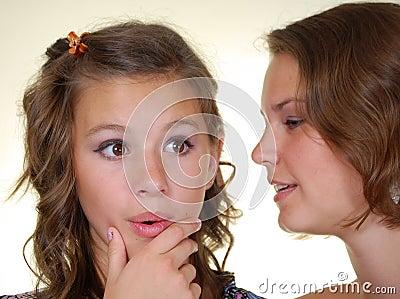 Gossips in secret