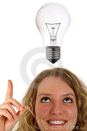 Free Got An Idea Stock Photography - 532842