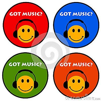 Free Got Music Royalty Free Stock Photo - 34340265
