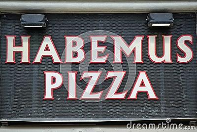 Got pizza sign
