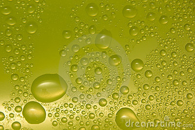 Gotas da água no vidro