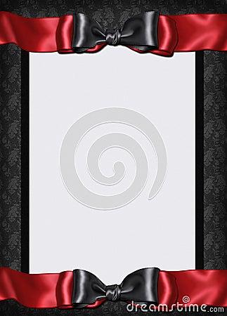 Free Goth Card Menu Invitation Royalty Free Stock Photography - 18693957