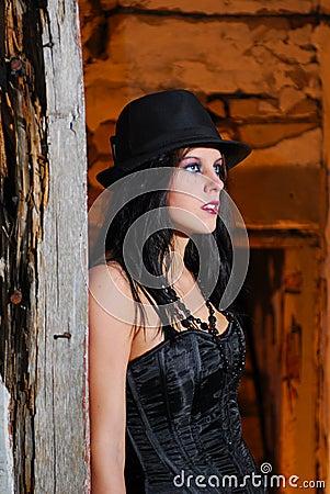 Goth Girl Portrait