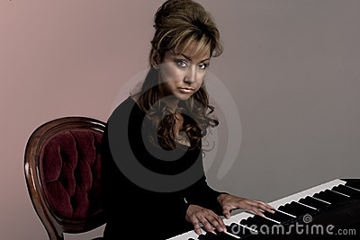 Goth musician