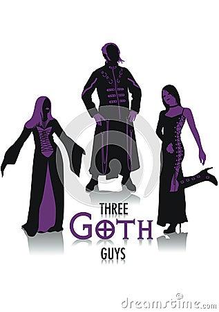 Goth silhouettes