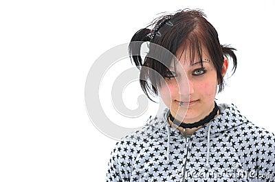 Goth Teen Model