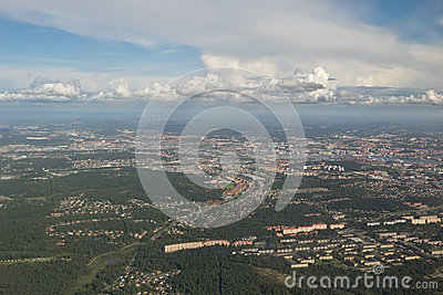 Gothenburg from above