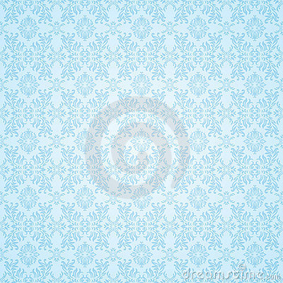 Free Gothic Blue Seamless Wallpaper Royalty Free Stock Photo - 14641545