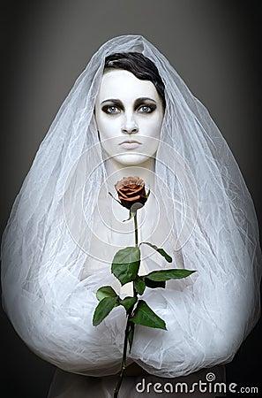 Goth bride | A Damsel in This Dress