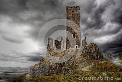 Gothic castle Hazmburk, Landmark