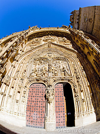 Gothic cathedral in Salamanca