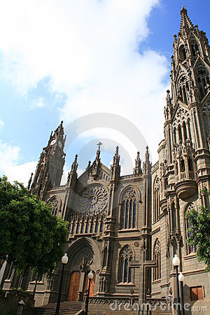 Gothic cathedral in tropics