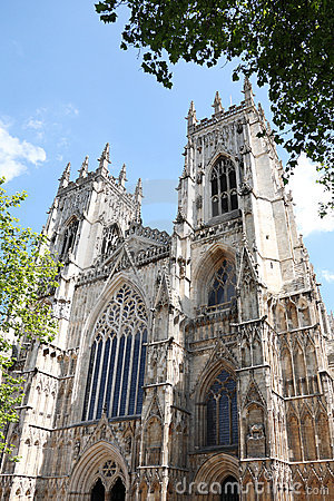 Gothic Cathedral in York,uk