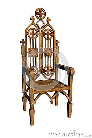 Gothic Chair 1