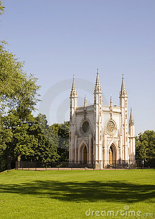 Free Gothic Chapel Stock Photography - 11643852