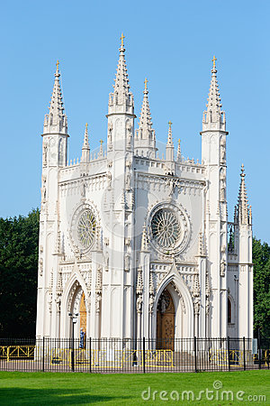 Free Gothic Chapel In Peterhof. Royalty Free Stock Photo - 74983665