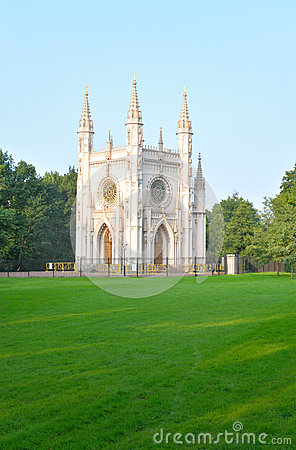 Free Gothic Chapel In Peterhof. Stock Photography - 75151022