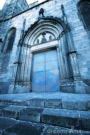 Free Gothic Church Door Stock Images - 3581454