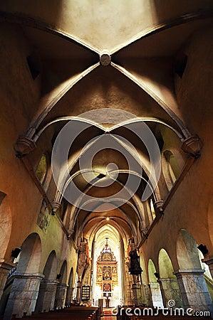 Free Gothic Church In Transylvania Royalty Free Stock Image - 93604916