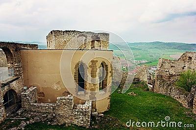 Gothic Church at Spiss Castle, Slovakia