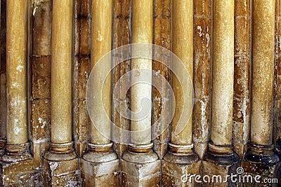 Gothic columns