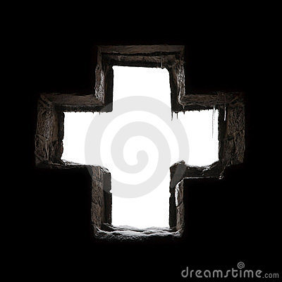 Free Gothic Cross Stock Photography - 18645722