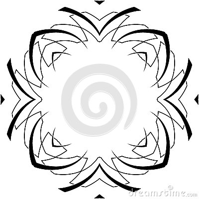 Gothic curves pattern