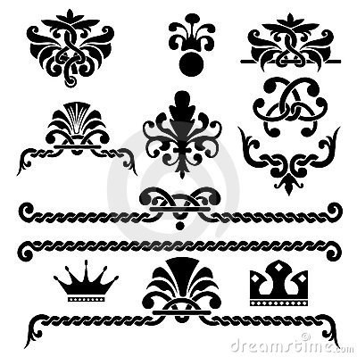 Gothic design elements