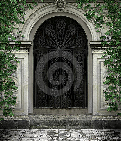 Free Gothic Door Royalty Free Stock Photography - 14554347