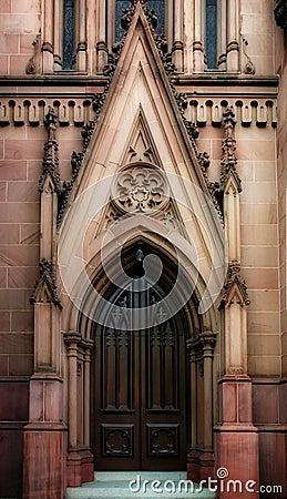 Gothic Door Royalty Free Stock Photos Image 858318