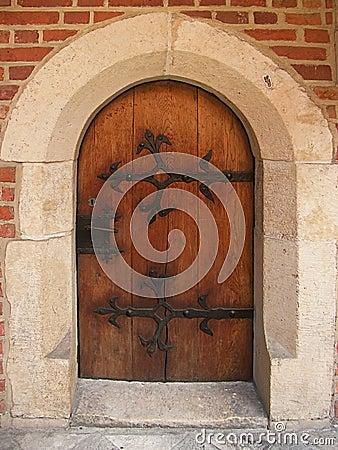 Gothic doors