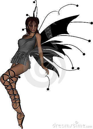 Free Gothic Fairy Sassy Royalty Free Stock Photography - 11429907