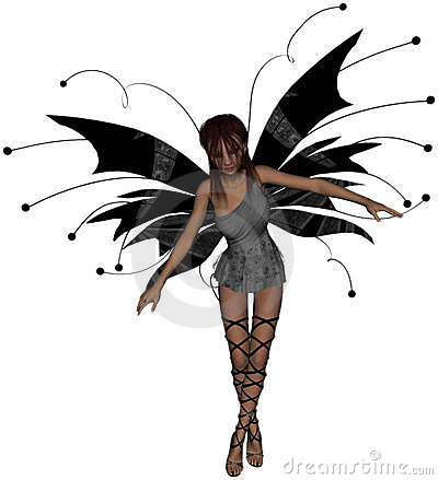Gothic Fairy Standing