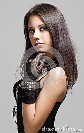 Free Gothic Girl Stock Photo - 30534860