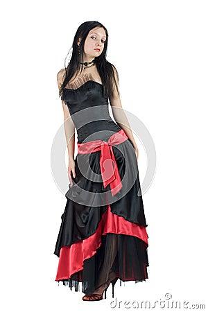 Free Gothic Girl Stock Image - 5075531