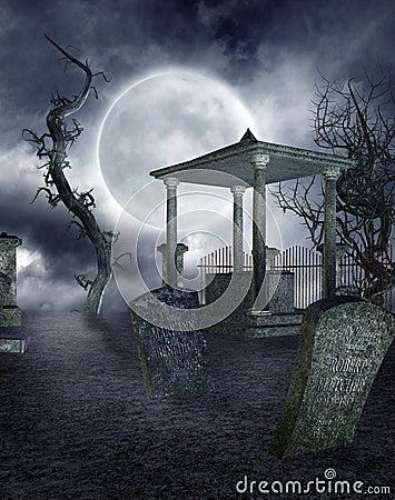 Gothic graveyard 2