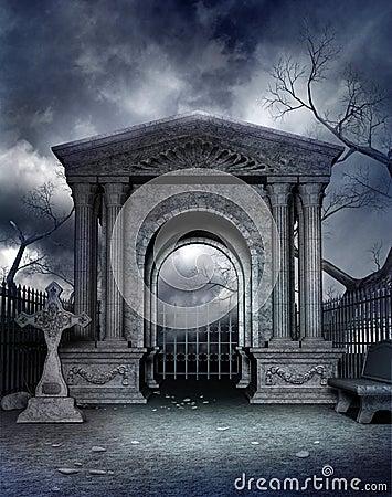 Gothic graveyard 4