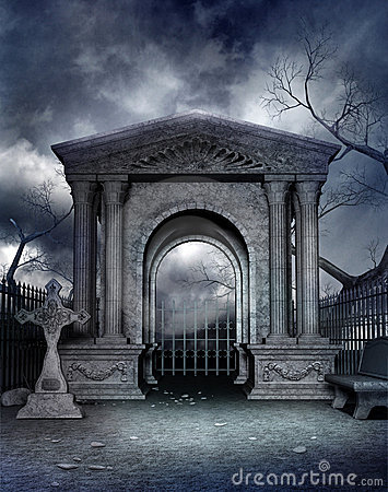 Free Gothic Graveyard 4 Royalty Free Stock Photos - 12561678