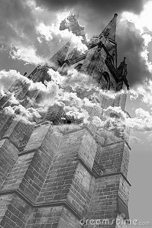 Gothic horror tower