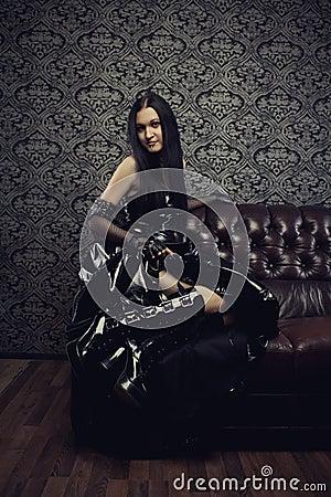 Gothic Lady Stock Photo Image 31689950