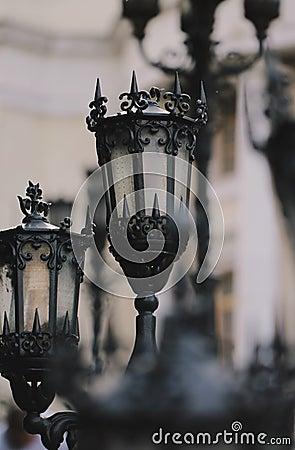 Free Gothic Lanterns Stock Photos - 86368963