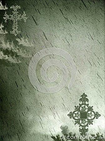 Gothic medieval cross grunge