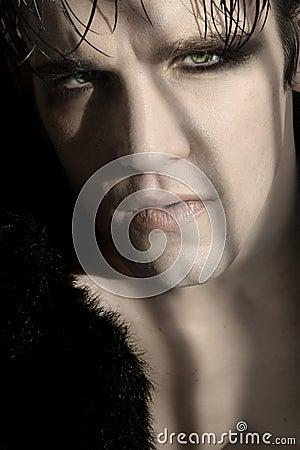 Free Gothic Model Stock Image - 6982841