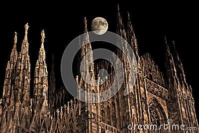 Gothic moonrise