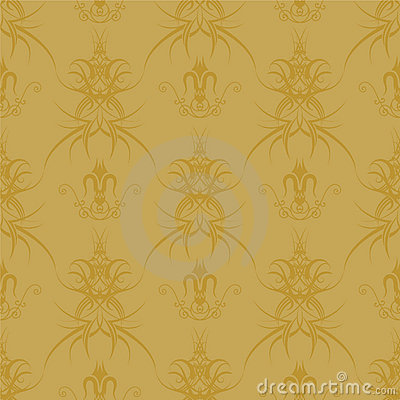 Gothic repeat gold