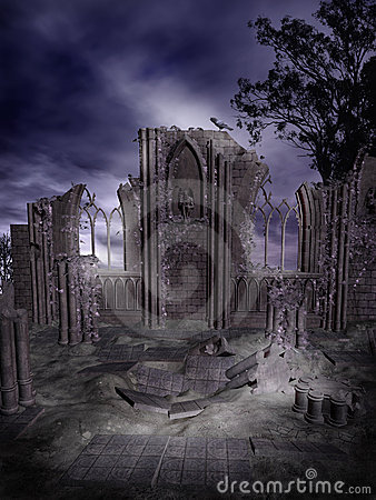 Gothic ruins 2
