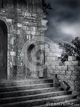 Gothic ruins 4